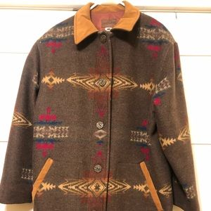Pendleton Original Wool Coat, size Large,